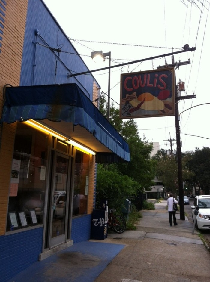 11) Coulis, 3625 Prytania St.