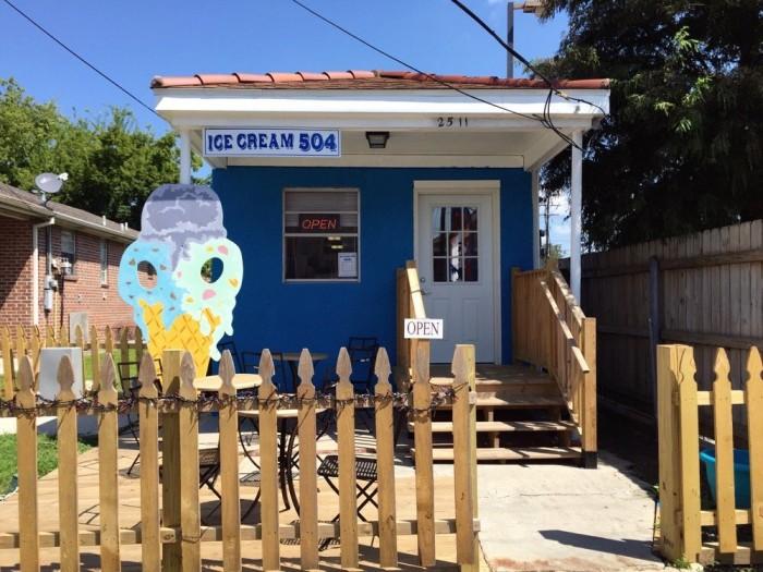 9) Ice Cream 504, 2511 Jena St.