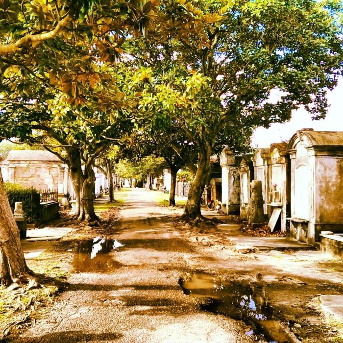 7) St. Louis Cemetery No. 1, 1400 Washington Ave
