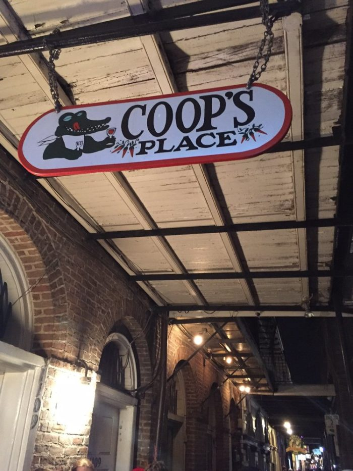 7. Coop's Place, New Orleans