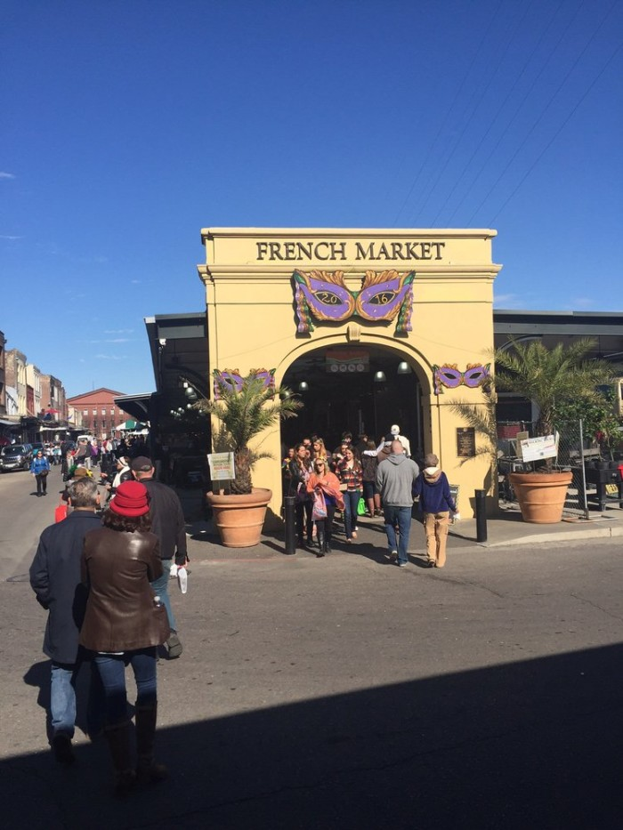 8) French Market, 1008 N Peters St.