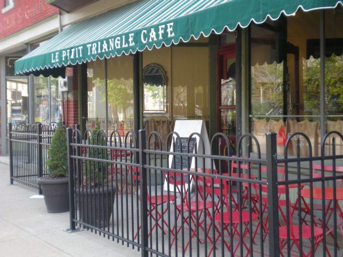 11. Le Petit Triangle Café (Cleveland)