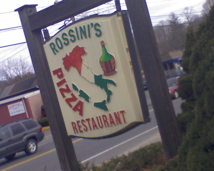 8. Rossini's Italian Restaurant & Pizza (Cheshire)