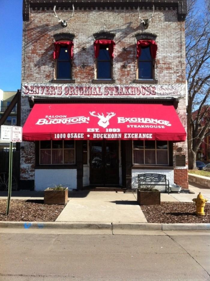 6. The Buckhorn Exchange (Denver)