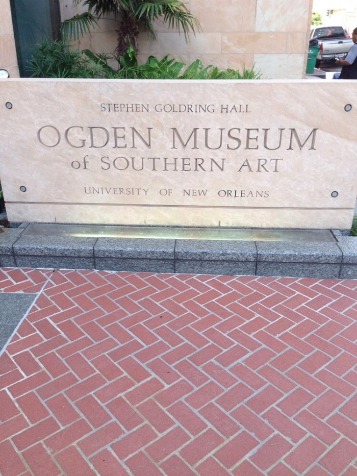 11) Ogden Museum, 925 Camp St.