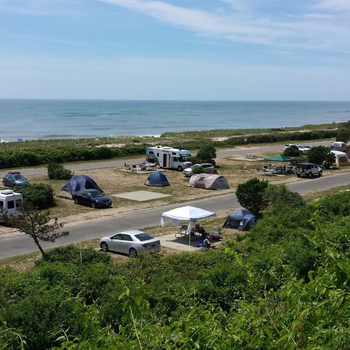 Island Park Camping Spots