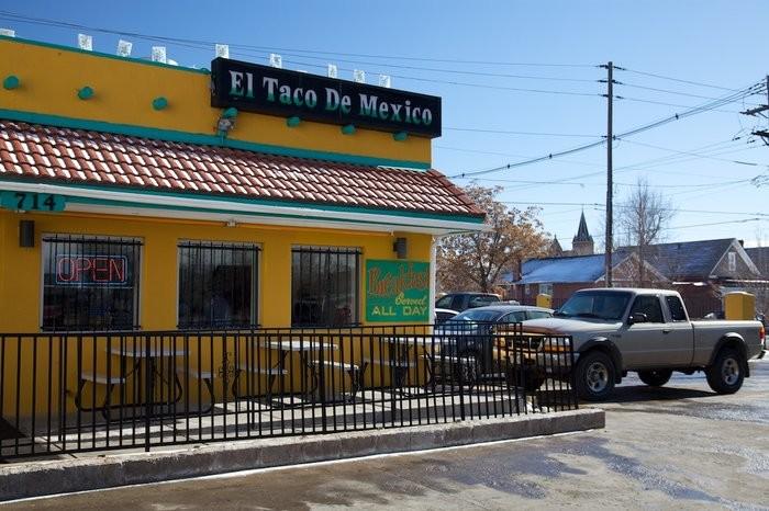 7. El Taco De Mexico