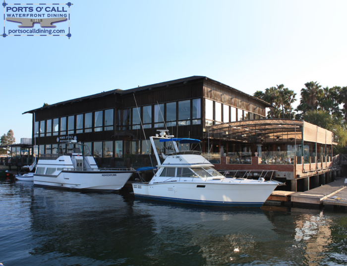 8. Ports O' Call Waterfront Dining in San Pedro is a great harborside destination for fresh seafood and a relaxing atmosphere right on the water.