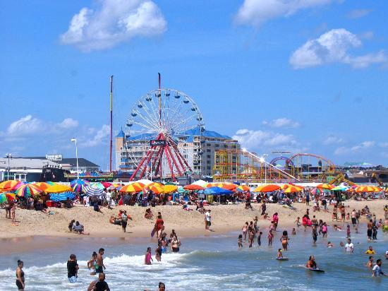 13. Ocean City Beach, Maryland