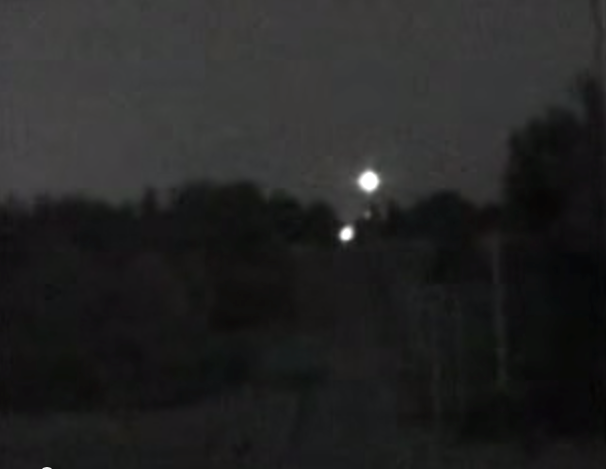 10. We have strange ghost lights that appear in the sky.