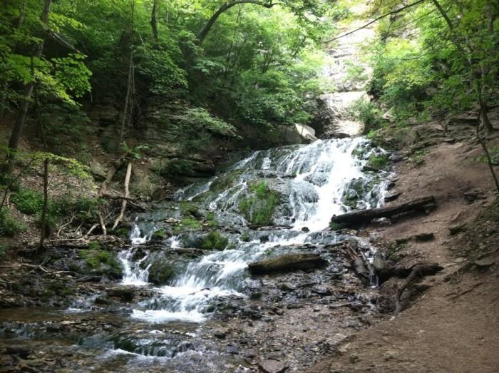 6. Dunning's Spring Falls, Iowa