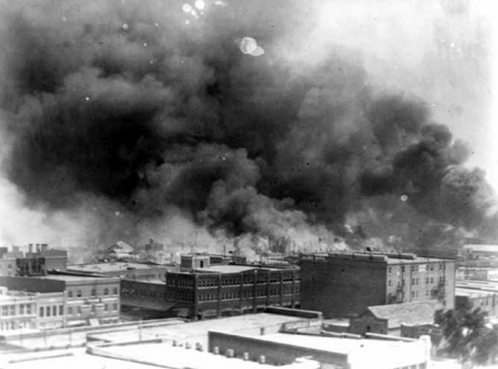 9. One of the single worst incidents of racial violence in American history happened in Tulsa in 1921. The Greenwood District, the wealthiest black community in the United States, was burned to the ground. An estimated 10,000 African-Americans were left homeless.
