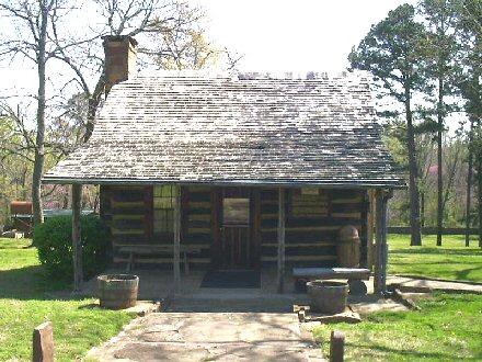 1. Sequoyah's Cabin, Sallisaw