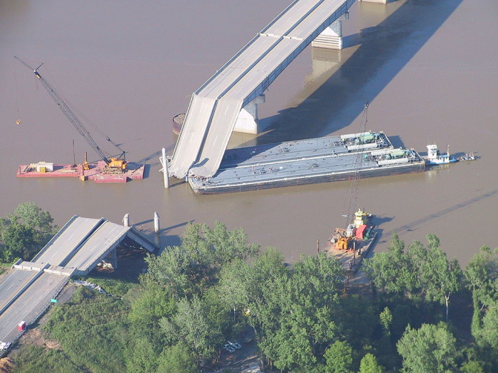 8. After the deadly I-40 bridge collapse in Oklahoma, a person impersonated an Army Captain and took control of the disaster scene for two days, including directing FBI agents.