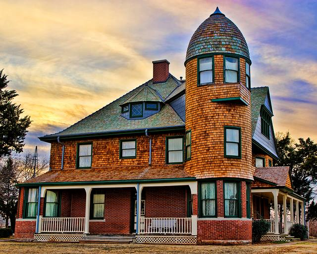 3. A.J. Seay Mansion, Kingfisher