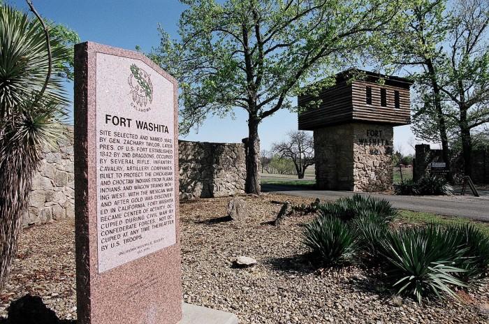5. Fort Washita Historic Site, Durant