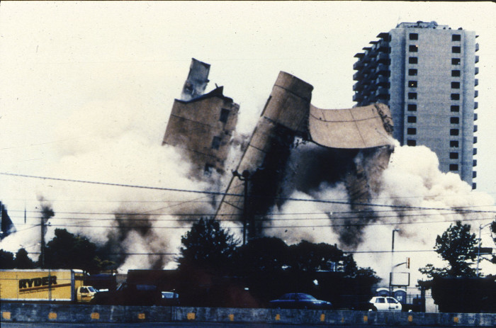 The Alfred P. Murrah Building was built on March 2, 1977, bombed on April 19, 1995, and demolished on May 23, 1995.