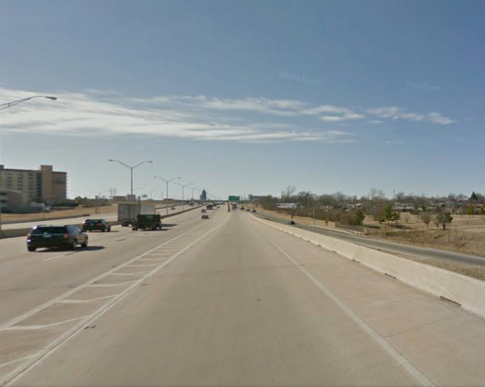 3. Broken Arrow Expressway at Memorial Drive in Tulsa.