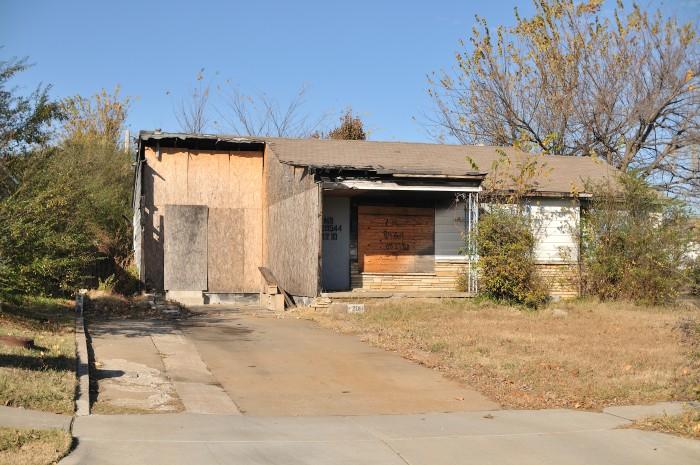 7. E Mohawk Blvd and N. Cincinnati Ave in North Tulsa.