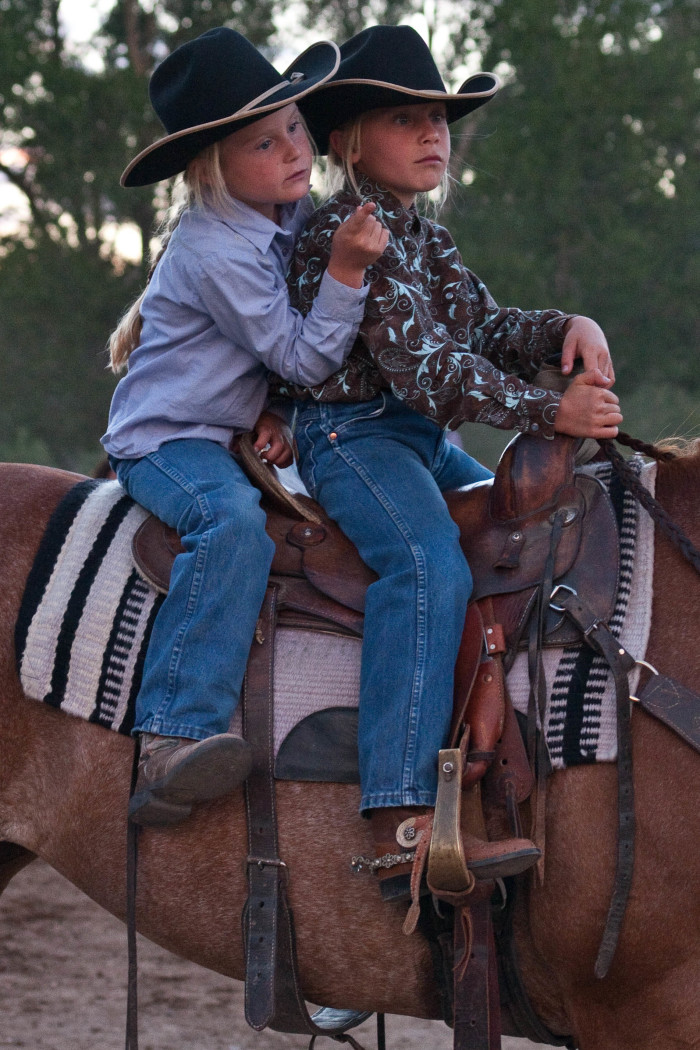 11. I want a horse so I can be a real cowboy or cowgirl.