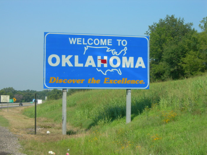 16. But always coming back home thinking...Oklahoma is simply the best!