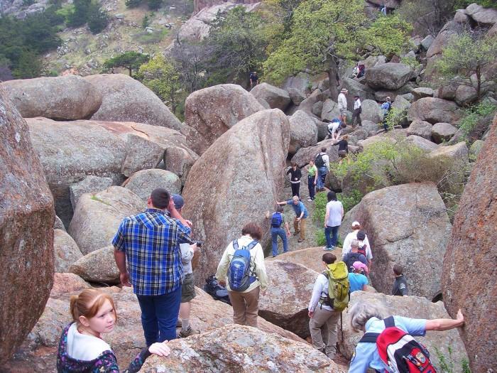 3. Charon's Garden Trail at Wichita Mountains Wildlife Refuge, Indiahoma