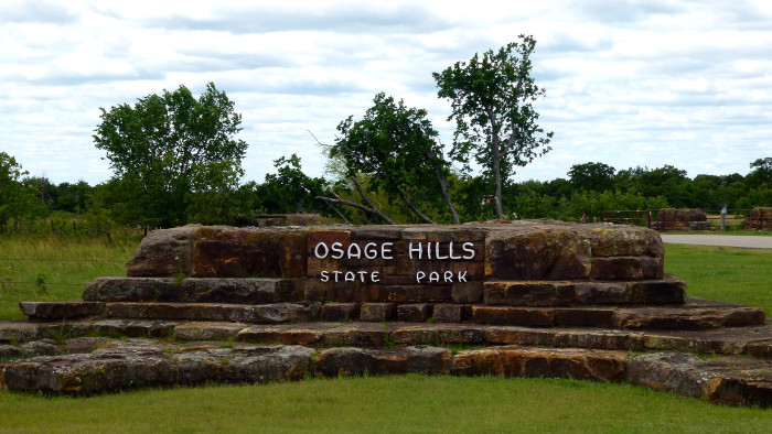 6. Bugle Trail at Osage Hills State Park, Pawhuska