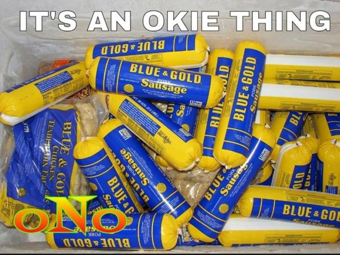 4. Oklahoma's Blue & Gold Sausage