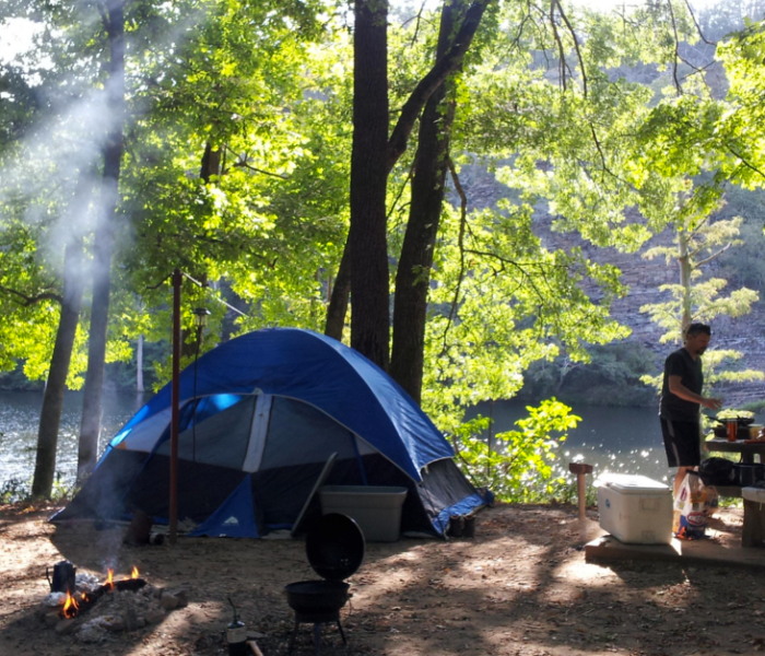 6. The camping options are endless.