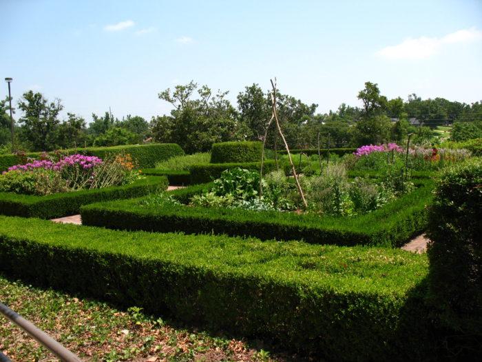2. Colonial Garden at Gilcrease Museum, Tulsa