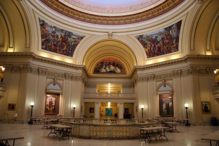 6. Oklahoma State Capitol Building, Oklahoma City