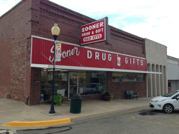 7. Sooner Drug & Gifts, Okemah