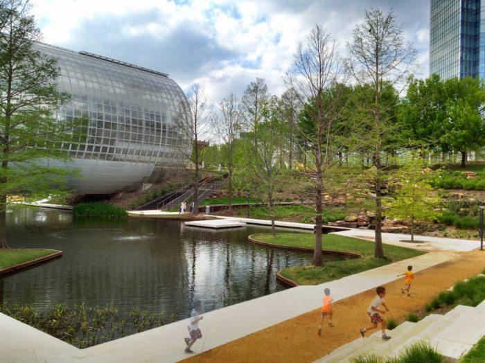 4. Myriad Botanical Gardens, Oklahoma City