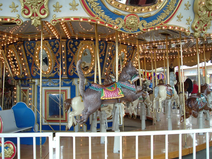 11. Ride the carousel at Old Orchard Beach.