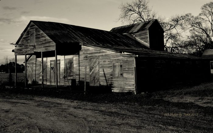 7. The former Martin Medric Grocery in Franklin, Louisiana