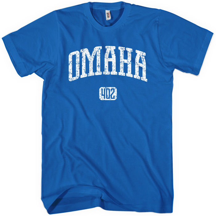 """3. They're wearing newly-purchased """"Omaha"""" shirts."""