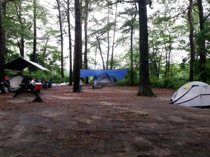 Delaware State Park Beach Cabin