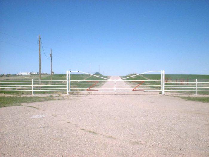 outside gates