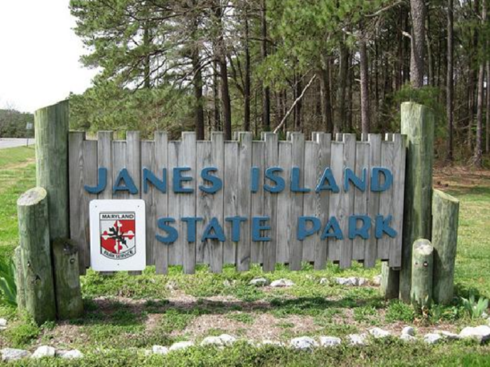 Spend the day at Janes Island State Park.