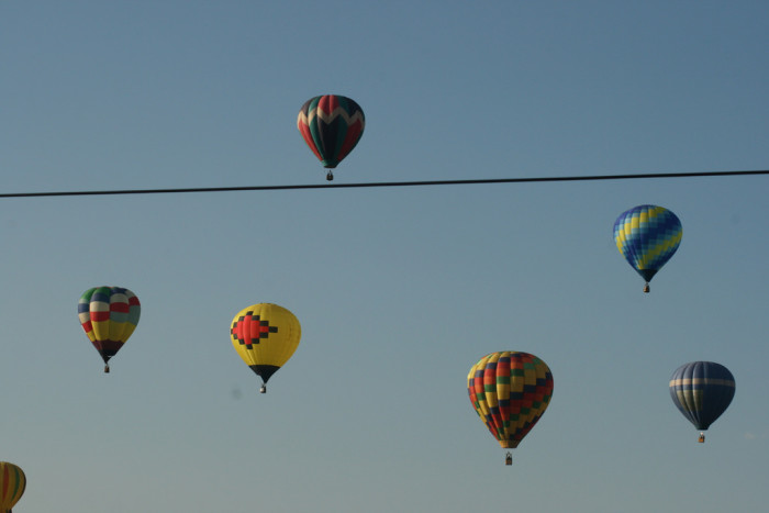 8. Panguitch: Hot air balloons and a really cool lake.