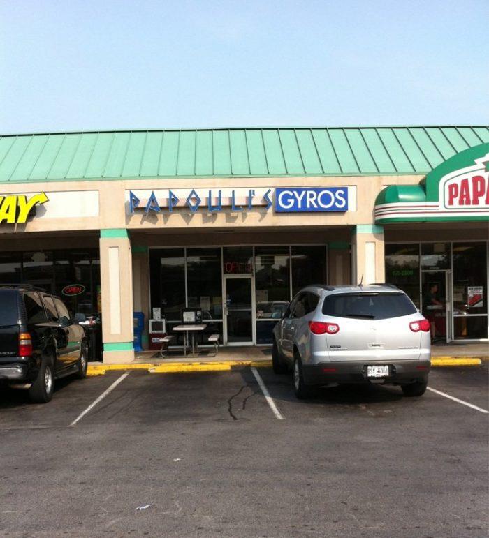 8. Papouli's Mediterranean Cafe & Market, 121 Tom Hill Sr Blvd, Macon, GA 31210