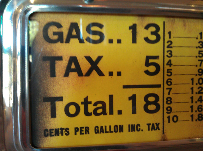 10. It would be SUPER if we could only pay 18 cents a gallon for gas again.