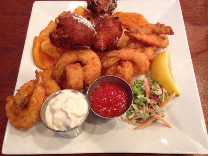 pearlz oyster bar columbia shrimp