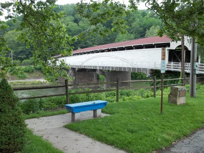 5. Philippi Covered Bridge, Philippi