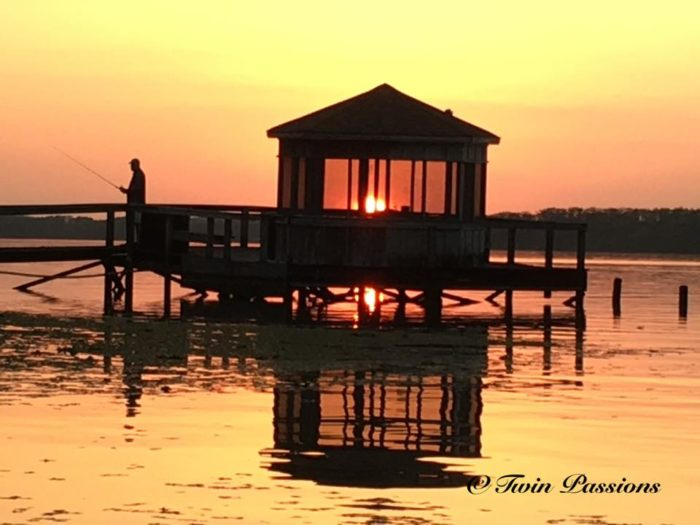 10. Fishing at Sunset- Lake Arthur, Louisiana