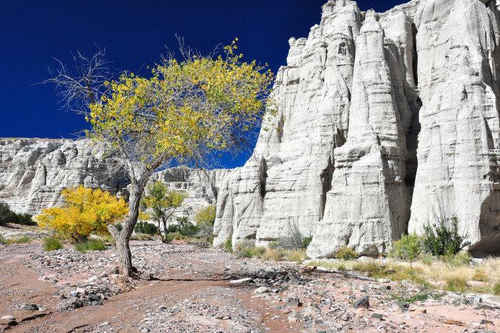 New Mexico: Plaza Blanca near Abiquiú