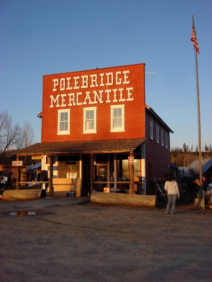 6. The Polebridge Mercantile, Polebridge