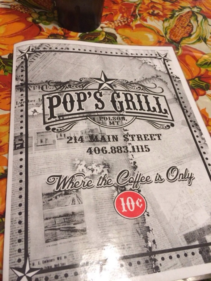 9. Pop's Grill, Polson