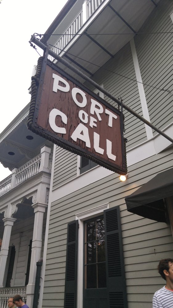 9) Port of Call, 838 Esplanade Ave.