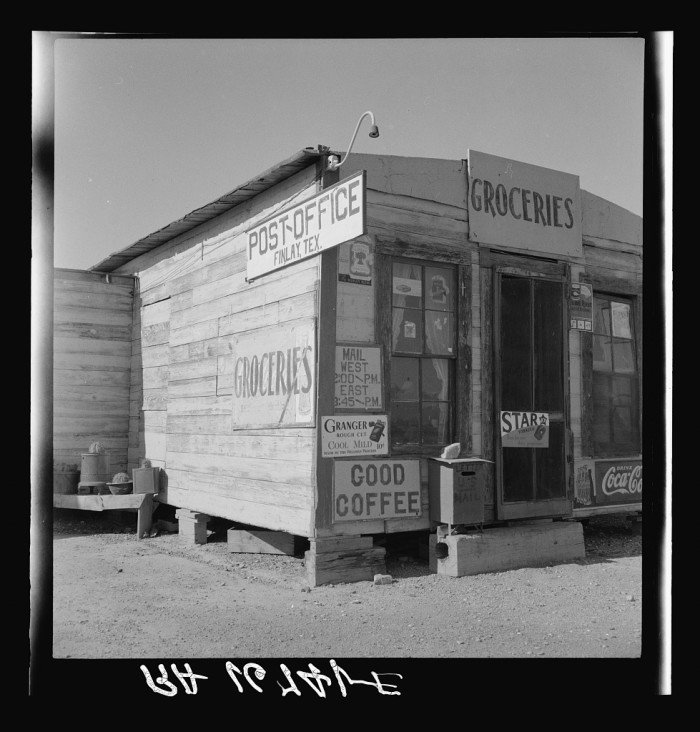 1. A post office that looked like this.